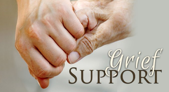 Grief support button